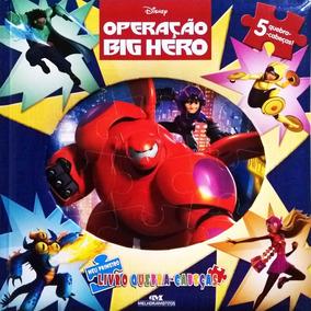 Operação Big Hero - Meu Primeiro Livro Quebra-cabeças
