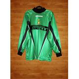 Camiseta Umbro Inter De Milan 1997-98 Arquero, L, Usada