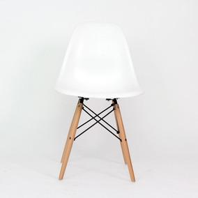 Silla Réplica Eames Blanca