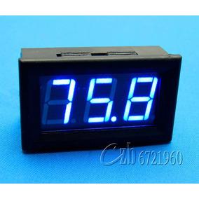 Voltímetro Digital 0-100v Dc Remote . . . . . Alto Padrão
