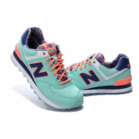New Balance 574 Calipso Naranja