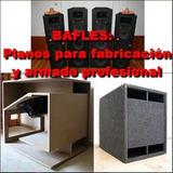 200 Planos De Bafles De Fabricacion Profesional