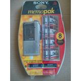 Sony M-p4 Microcassette Corder Grabador