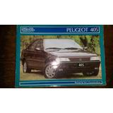 Manual De Propietario De Agencia Peugeot 405