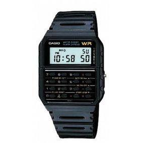 Casio 8 Digitos Reloj Digital Calculadora Ca-53w-1 Hombre