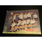 Selección Argentina Formacion 1956 Revista Estadio