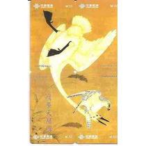 Ml-4464 China (puzzle) Série Passaros Grou P618 (4 Cts)