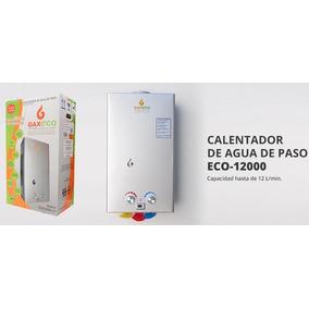 Calentador De Paso Para Agua Gaxeco 12 Lts Gas Natural
