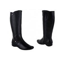 Bota Larga Casual Vivis Shoes 3906 Id 74206 Negro Dama