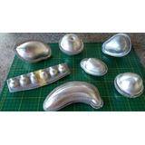 Formas Em Alumínio,para Frutas De Parafina.