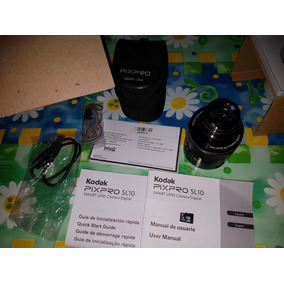 Kodak Pixpro Sl10 + Micro8gb, Smart Lens 16mp, Nfc, Wifi.