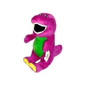 Barney Peluche 39 Cm Nuevo Grande