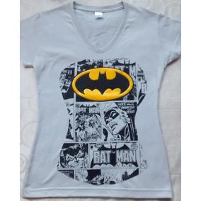 Camiseta Pectoral Batman - Dama