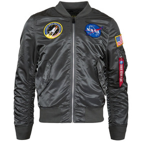Chaqueta Alpha Industries De Piloto L 2b Nasa Flight Jacket