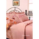 Casa De Ensueño Floral Dream Duvet 4pc Reina Rosa