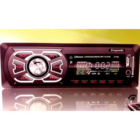 Autostereo Fijo Radio Usb Sd Aux Lcd Display Mp3 Bluetooth