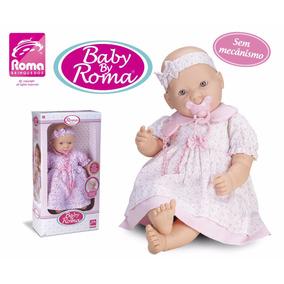 Boneca Baby By Roma Tiara, Detalhe E Cheirinho De Nenê. 5184
