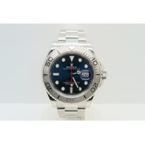 381e458d874 Relogio Rolex Yacht Master 16622 Bezel Platina Serial V - Relógio ...