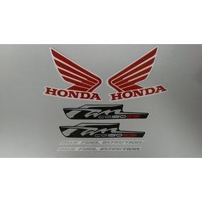 Kit Adesivos Faixas Honda Fan Cg 150 Esi 2012 Preta