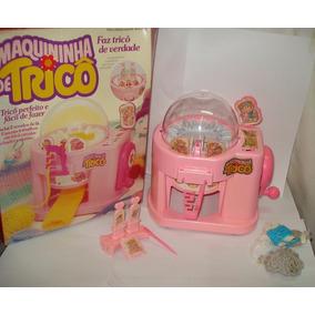 Máquina De Tricô Glaslite Na Caixa, Funcionando