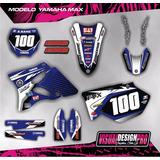 Kit Calcos - Gráfica Yamaha Yz 125/250 2t- 2003/13 - Gruesas