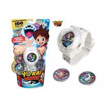 Yo Kai Watch Español Reloj 8 Medallas