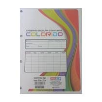 Bloco De Folhas De Fichário 200mm X 275mm Colorido 96 Folhas
