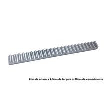 Cremalheira Alumínio Gomo De 30cm Peça Original Peccinin
