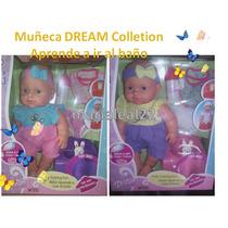 Muñeca Dream Collection Aprende A Ir Al Baño Cad/u