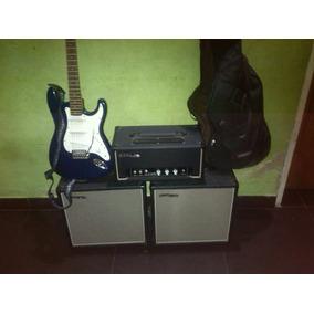 Amplificador Feur Germany Fu-amp50w + Guitarra Fermasther