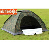 Carpa Impermeable Para Acampar Camping 5 Personas