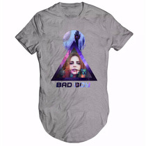 Camiseta Camisa Longline Bad Boy Lana Del Rey Dark Galaxy