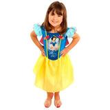 Fantasia Infantil Branca De Neve M 6 A 7 Anos Rubies