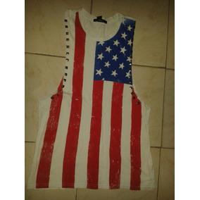 Blusa Bandera Usa Dama Forever 21