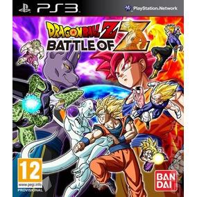 Dragon Ball Battle Of Z Ps3 Via Psn Digital