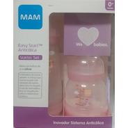 Kit 2 Mamadeiras Mam Easy Start Set Rosa 130ml E 260ml