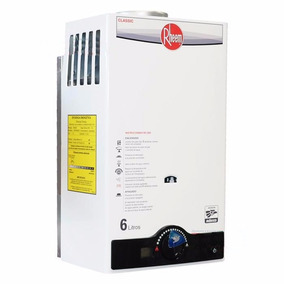 Boiler Calentador Instantaneo Rheem 6 Lt Ahorrador Barato