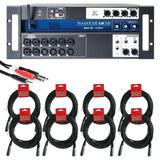 Soundcraft Ui16 Mezcladora Digital + 8 Cables Xlr+cable Hosa
