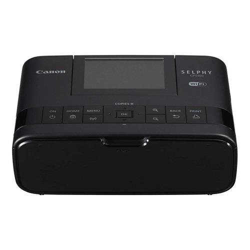 Impressora a cor Canon Selphy CP1300 com wifi preta 100V/240V