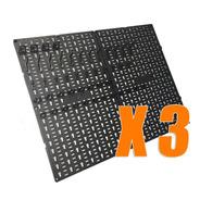 Organizador Tablero Herramientas 50x180cm + 144 Accesorios