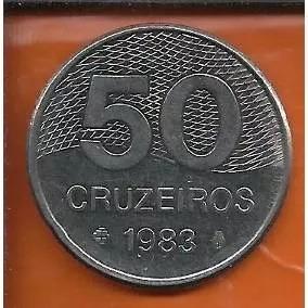 Moeda 50 Cruzeiros 1983