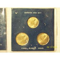 Argentina Mundial 78 Set 3 Monedas