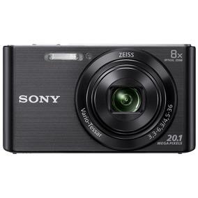Cámara Digital Sony Dsc-w830/bc E33 Negra