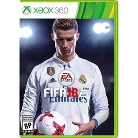 Fifa 18 Xbox 360 100% Português Novo Fifa18 Midia Física