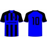Jogo 18 Camisas Personalizado Futebol Dry Sport Chacara Camp