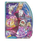 Muñeca Barbie En Una Aventura Espacial Y Mascota Voladora