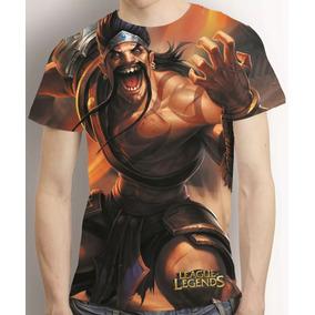 Camisa Draven League Of Legends Estampa Total Lol