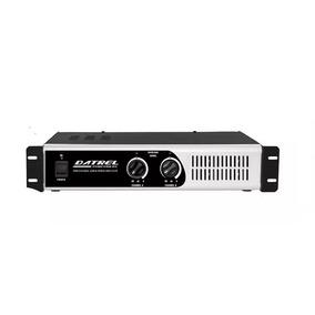 Amplificador De Potencia Datrel Pa8000 800w Rms Total