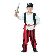 Disfraz Niño Pirata Halloween Fiesta Divertido