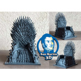 Trono De Hierro De Game Of Thrones 15cm Impresion 3d